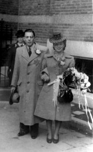 Trouwfoto Rebecca en Maurice