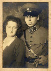 Chaim en Fifi foto uit 1927